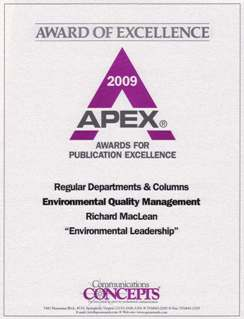 APEX Award of Excellence
